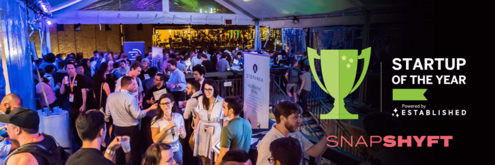 snapshyft startup of the year 2019, top 15, top startup, thor wood, stephanie corliss, snapshyft