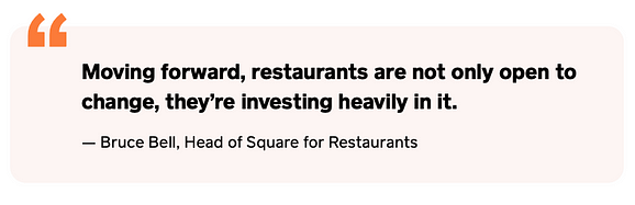 Restaurants work to ensure the show will go on— We're already seeing the results of these changes, as restaurateurs take advantage of opportunities to launch new channels and seamlessly connect with customers in innovative ways.
